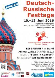 Deutsch-Russ Fest Plakat 2016