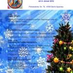 Programm der Weihnachtsfeier -DE