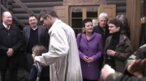 """Eröffnung der Ausstellung """"Luise, Zar und Teufel"""" April 2010"""