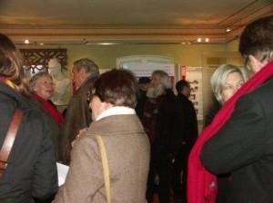 """Eröffnung der Ausstellung """"Geschichte einer Idee"""" Februar 2010"""