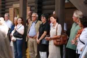 """Eröffnung der Ausstellung """"Puschkins Petersburg"""" 1.08.2010"""