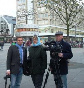 0Berlin, Vorbereitung zur Dreharbeiten Alexanderplatz