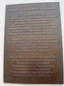 D Potsdam, Garnisonkirche