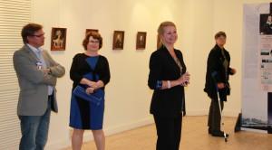 Leiterin des Museums A. Puschkin im Moskau