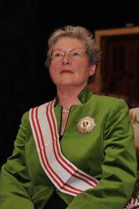 Clotilde von Rintelen, Vorsitzende der Deutschen Puschkin-Gesellschaft