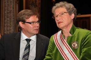 Dr. A. Tchernodarov und C. von Rintelen