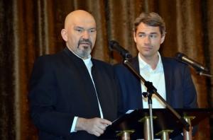 Gennadi Vengerov  und  Markus Lenz rezitieren aus Alexander Puschkin