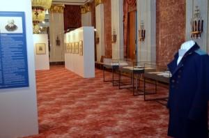 (c)Bild - Eduard Osechkin- Ausstellung -Und Frieden aller Welt gebracht . Exposition im Wappensaal
