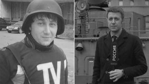 Jurnalisten Anton Woloschin und Igor Korneluk wurden von der Ukrainischen Armee am 17. Juni getötet.