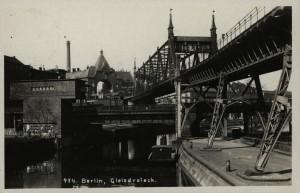 AK: Berlin 20er, Gleisdreieck