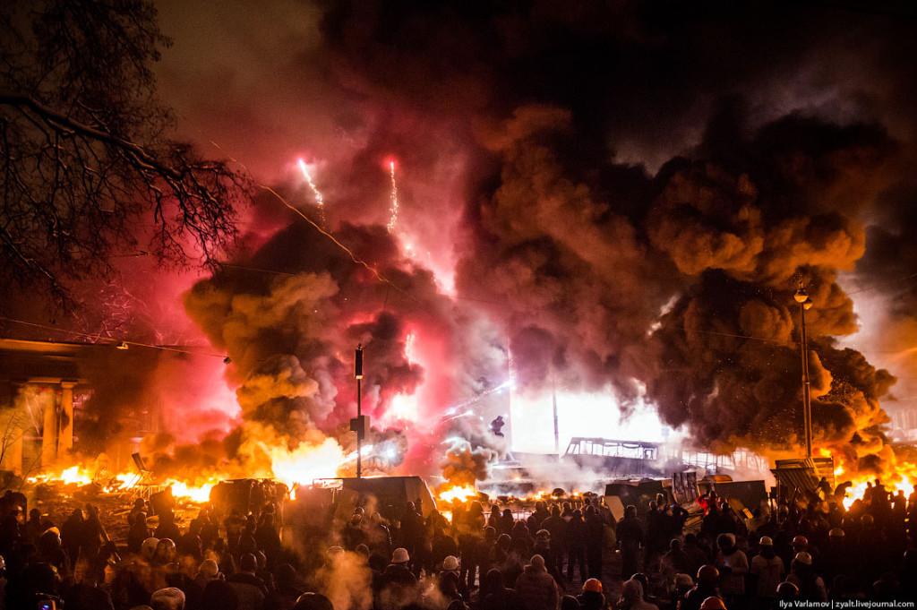 Euromaidan. Bild: Ilya Varlamow-zyalt.livejournal.com