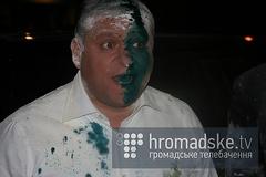 Der Kandidat für den Präsidenten der Ukraine Michail Dobkin wurde angegriffen