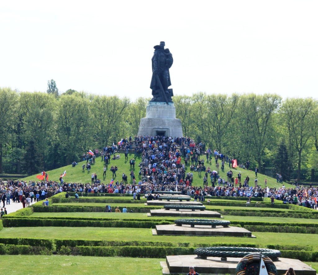 Treptower Park am 9.05.2015