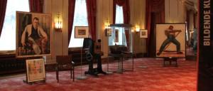 Ausstellung Das russische Kulturleben im Berlin der 1920er Jahre Wappen Saal