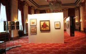 Ausstellung Das russische Kulturleben im Berlin der 1920er Jahre. Wappensaal
