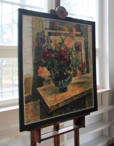 """Sagrekow """"Blumen in grünen Vase"""" Vernissage am 21. März 2015 in Berlin"""