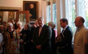 Ausstellung im Kunsthaus-Sagrekow am 3.10.15 DER FEUERVOGEL DES GEORG S