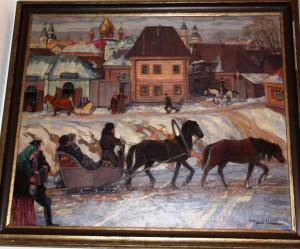 Birsk im Winter. G. Schlicht, 1925