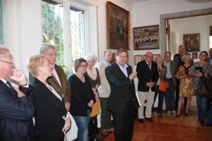 Kabinettausstellung im Kunsthaus-Sagrekow am 3.10.15