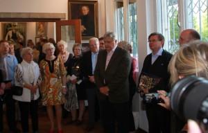 Kabinettausstellung im Kunsthaus-Sagrekow am 3.10.15 DER FEUERVOGEL DES GEORG S