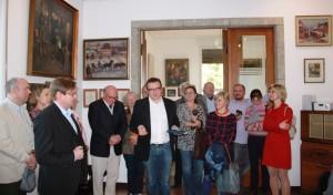 Kabinettausstellung im Kunsthaus-Sagrekow am 3.10.15 DER FEUERVOGEL DES GEORG SCHL