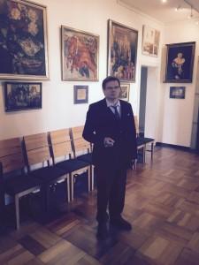 Kurator der Ausstellung Dr. Andrej Tchernodarov