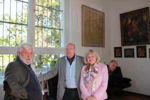 Waldemar Weber und Familie Nikitin