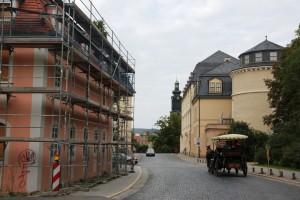Weimar Haus Frau von Stein - in diesem Haus war 1804 die erste Russ. Orthodoxe Kirche in Weimar untergebracht